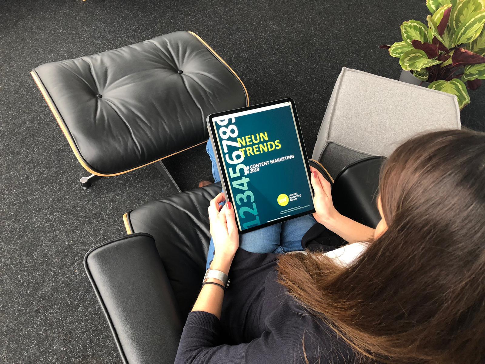 Content Marketing Forum veröffentlicht Content Marketing Trends für das Jahr 2019
