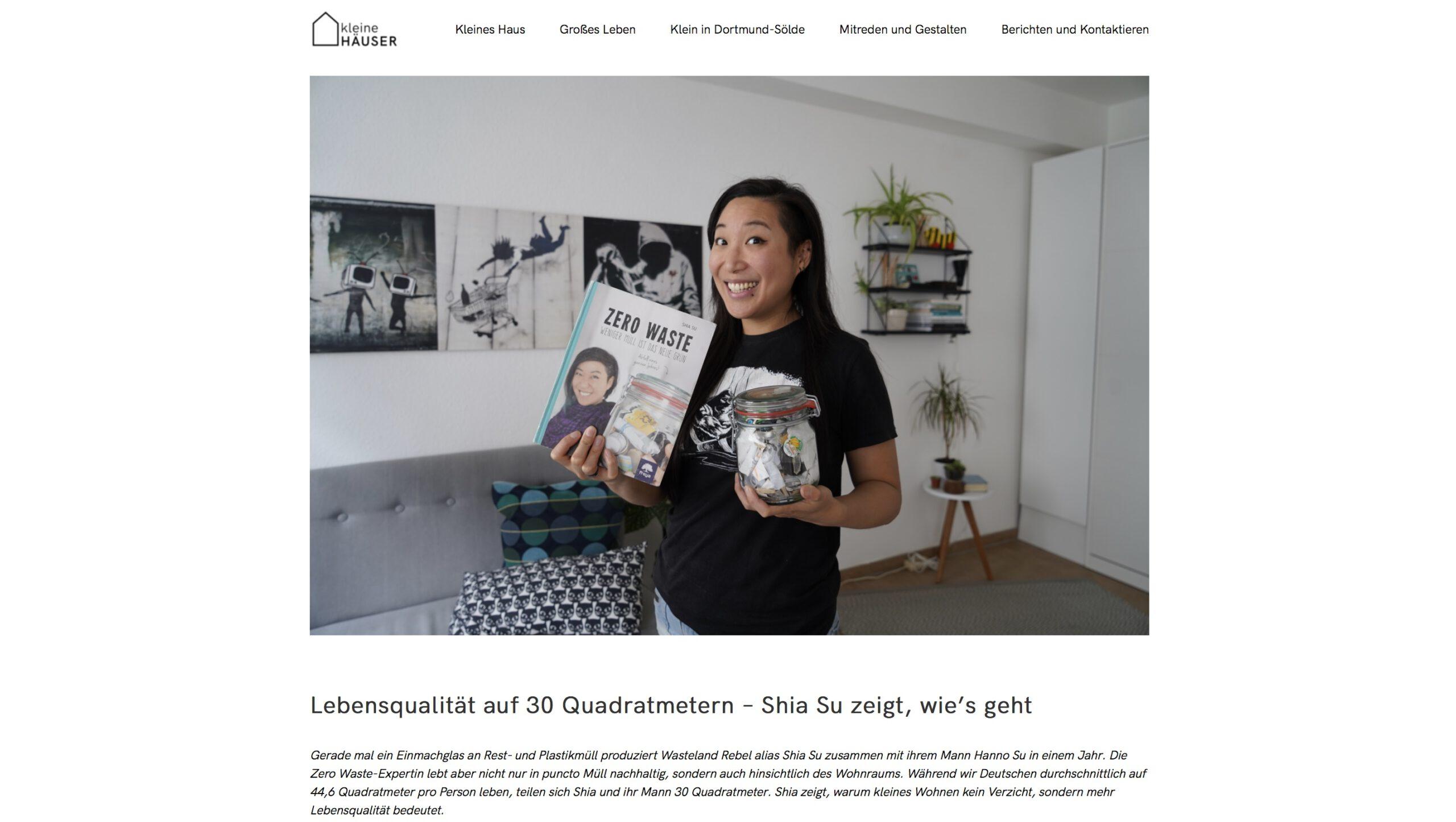 Moduldrei Referenz – Kleine Häuser Dortmund, Shia Su