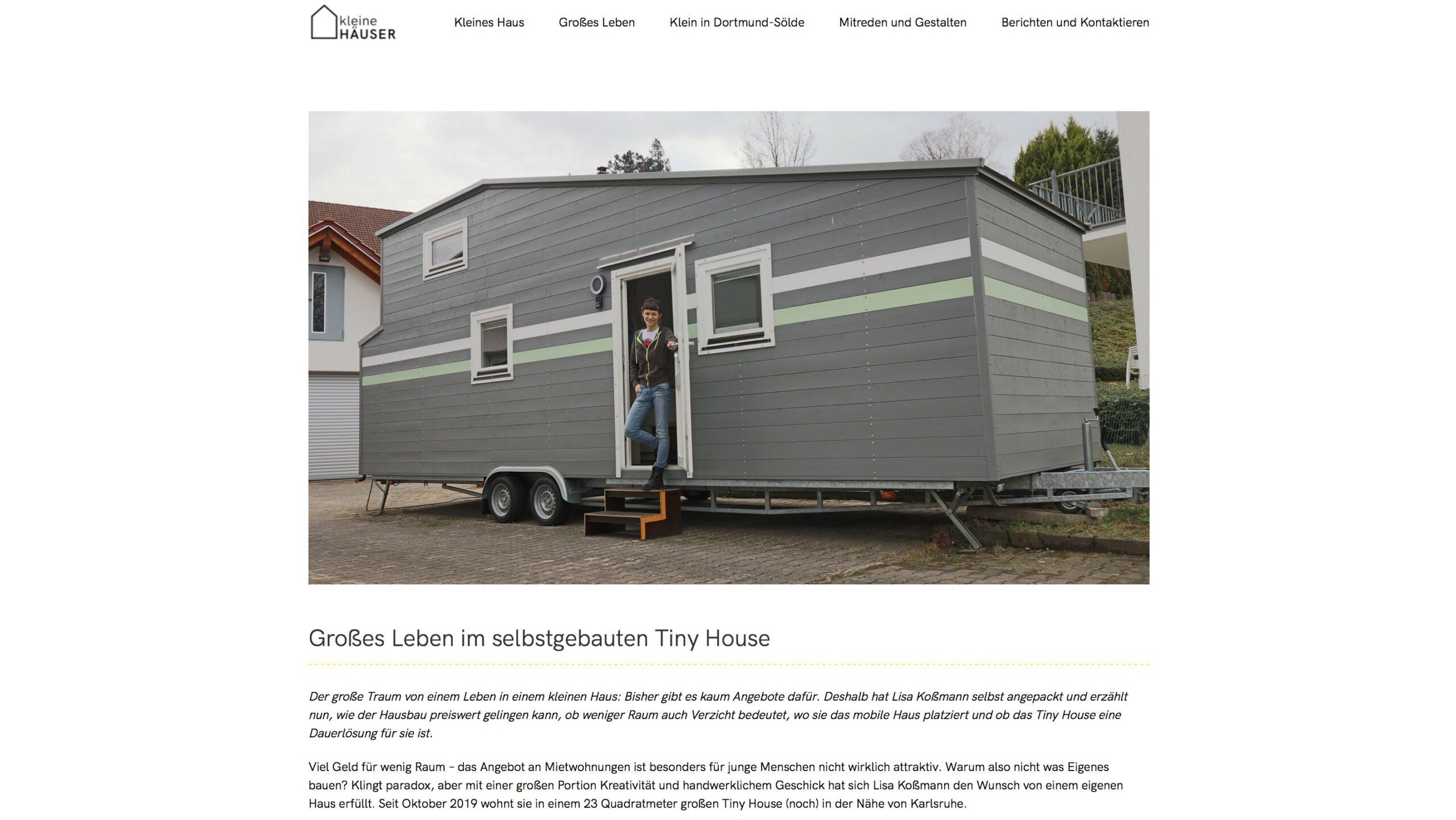 Moduldrei Referenz – Kleine Häuser Dortmund, Nessa Elessar