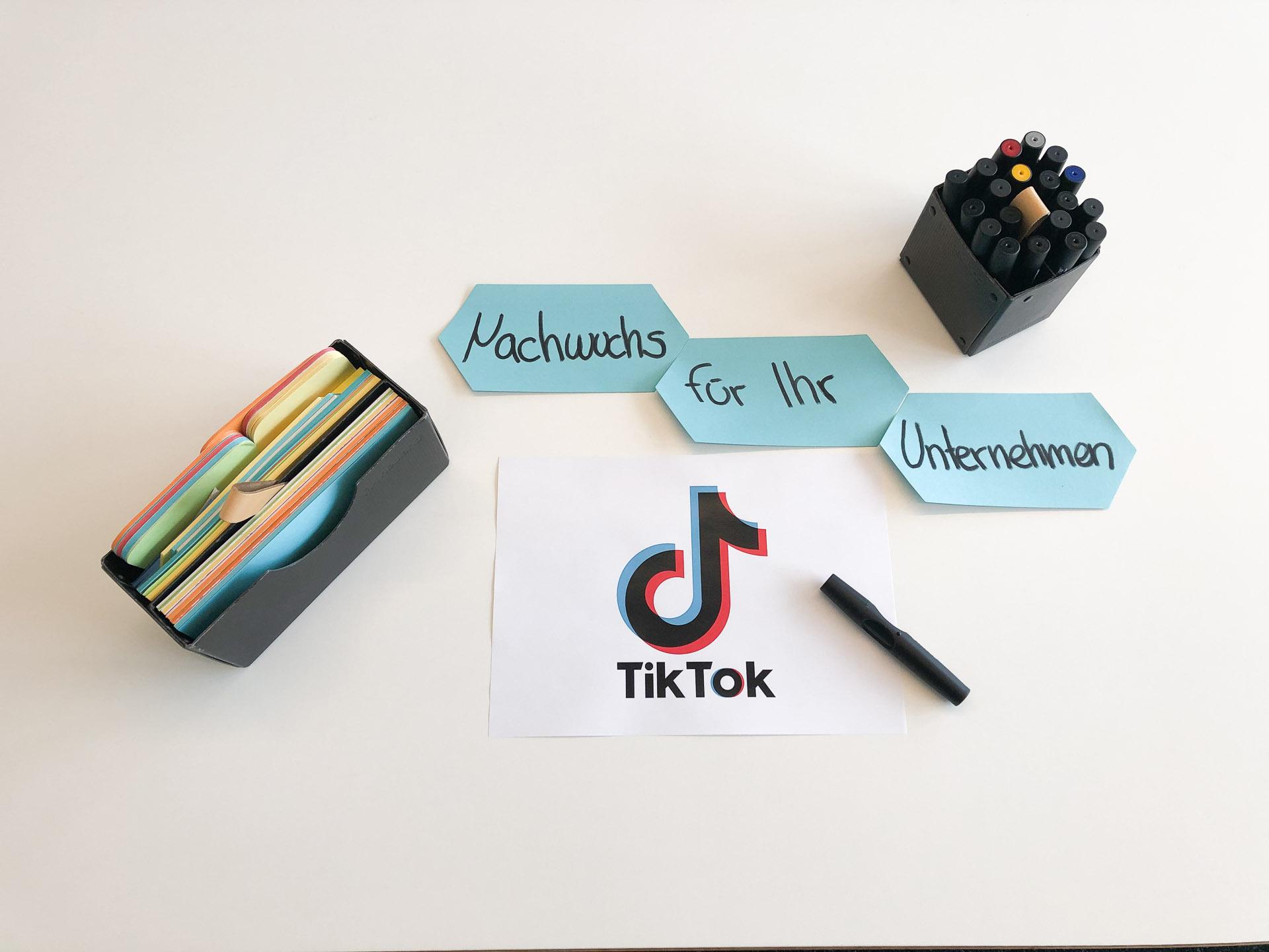 Tiktok - Plattform für Nachwuchskräfte