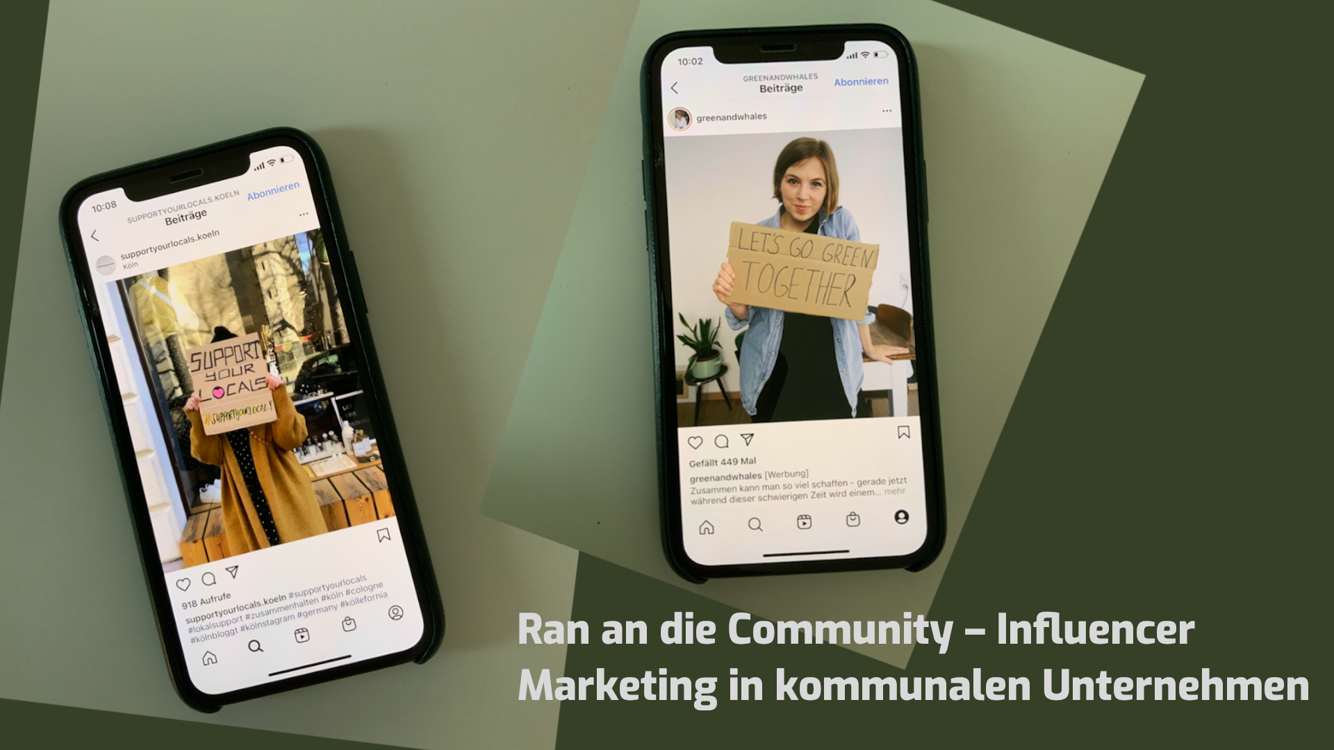 Moduldrei Blog: Influencer Marketing in der kommunalen Wirtschaft
